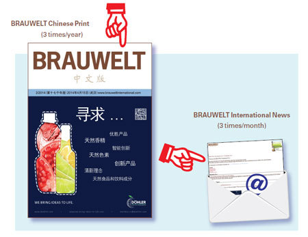 BRAUWELT Chinese subscription